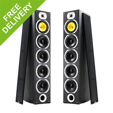 home stereo hifi tower boy floor standing speakers