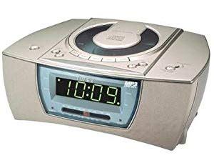 amazoncom timex cd player dual alarm clock radio
