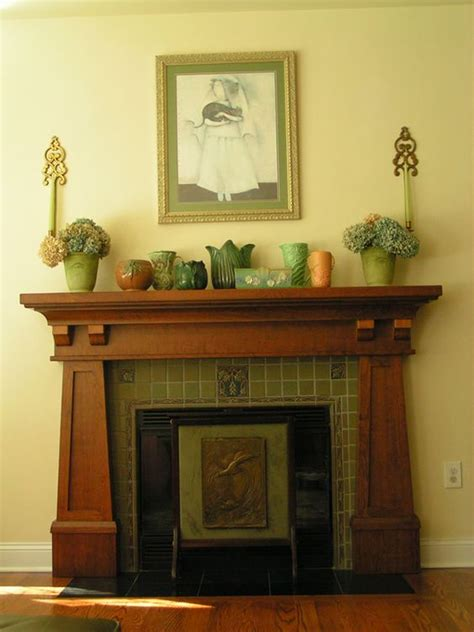 bungalow fireplace craftsman style mantle bungalow fireplaces pinterest