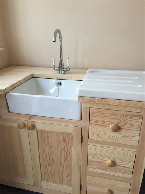 Drainer Ceramic Kitchen Sinks by Baby Belfast White Ceramic Sink With Chrome Waste And