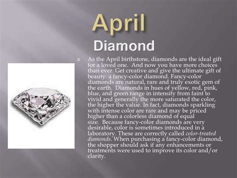 birthstone color for april learn about birthstones