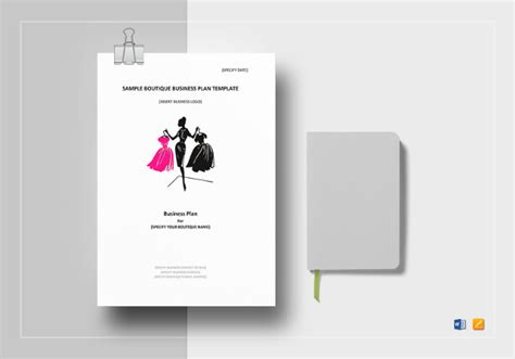 Boutique Template by Boutique Business Plan Template 12 Free Word Excel