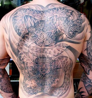 tribal full body tattoo tribal for