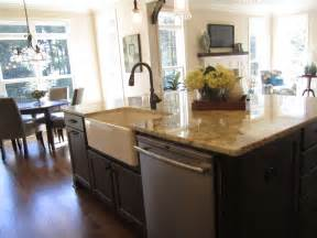kitchen island with sink you will loved traba homes main sink in kitchen island transitional kitchen