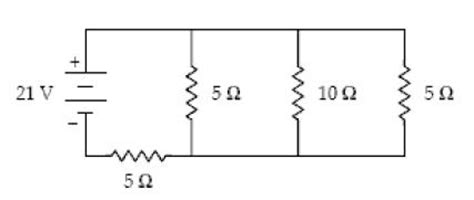 a 10 ohm resistor has 5 a current in it 1 what is the current in the 10 ohm resistor chegg