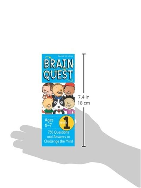 brain quest questions and answers to challenge the mind brain quest grade 1 revised 4th edition 750 questions