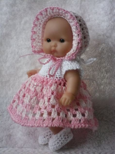 new 5 cute doll crochet patterns doll pattern crochet pattern for berenguer 5 inch baby doll dress