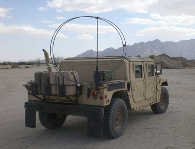 Matrix Db Meter Mx 102 hf vehicle loop antenna gives nvis performance for