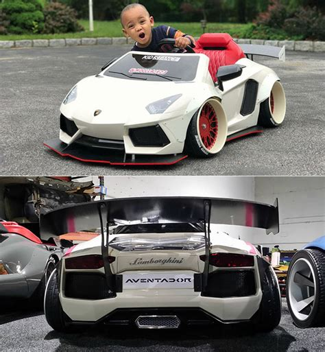 Mini Lamborghini Mini Liberty Walk Lamborghini Aventador Might Be The