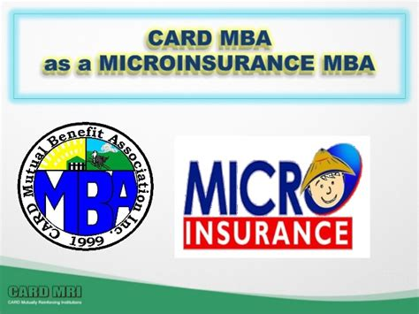 Card Mba by Evolution Of Card Mba And Its Impact To Microinsurance