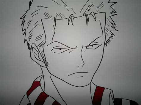 Drawing Zoro by Drawing Zoro Roronoa ロロノア 183 ゾロを描画する方法