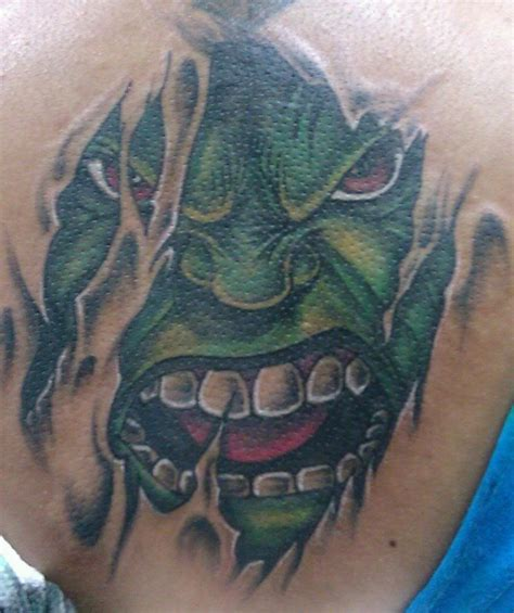 the hulk tattoo designs 14 images pictures and ideas