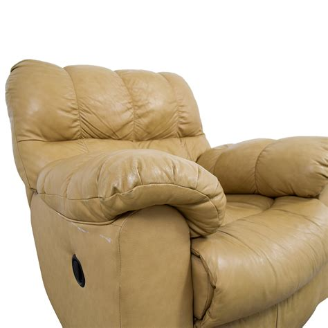 ashley furniture ashley furniture tan leather recliner chairs