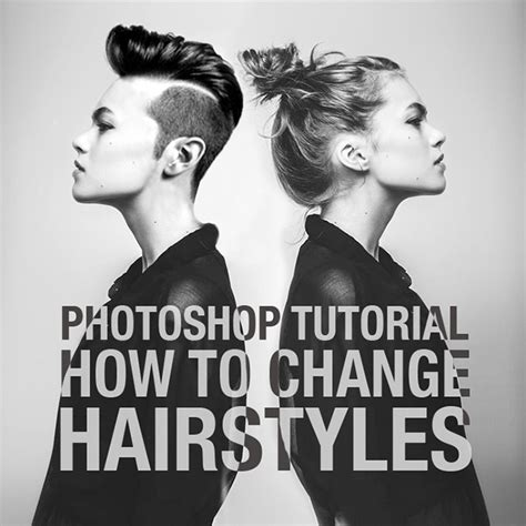 How To Change Hairstyle In Photoshop by Photoshop Tutorial How To Change Hairstyles This Design
