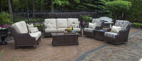 outdoor wicker patio furniture sets mila collection all weather wicker patio furniture