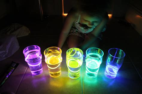 glow stick crafts for water xylophone activities for children rainy day play