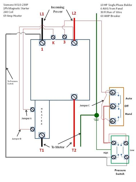 siemens motor starter wiring diagram wiring diagram and