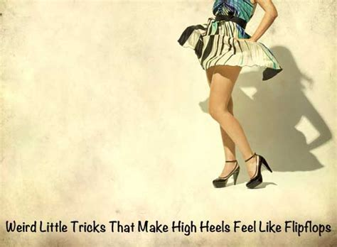 easy to walk in high heels but easy tricks that make high heels feel