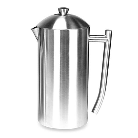 Frieling Insulated Stainless Steel French Press in Brushed Finish   Bed Bath & Beyond