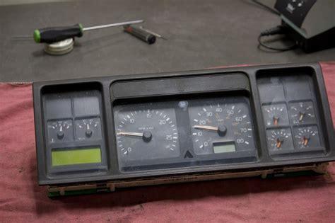 volvo instrument cluster repair heavy haulers rv resource guide