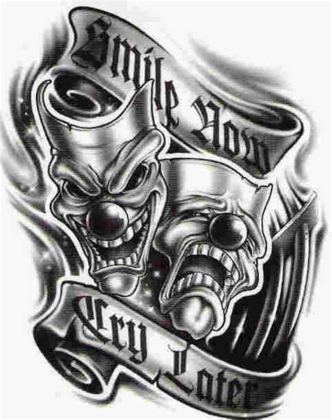 smile tattoo designs simle now cry later gonna be the new tattoos