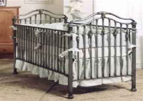 White Metal Baby Bed Metal Baby Cribs Corsican Iron Cribs Stationary Four