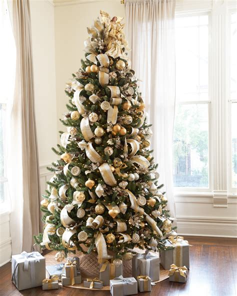 tree decorating ideas silver and gold tree tree decorating ideas
