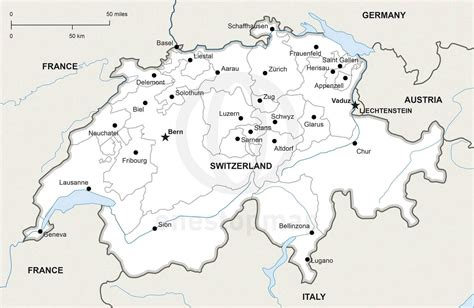 map of switzerland cities printable map of switzerland printable maps