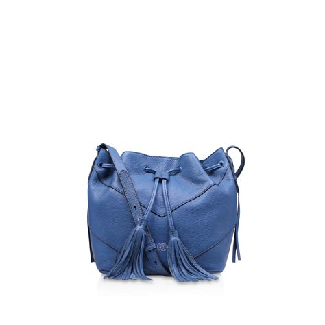 Wallet Bag Blue vince camuto fargo drawstring tote bag in blue lyst