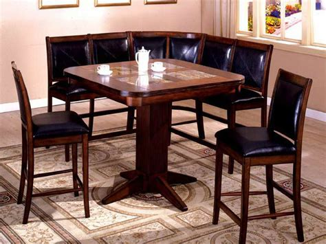 Corner Kitchen Table Sets by Furniture Awesome Corner Breakfast Nook Set Furniture