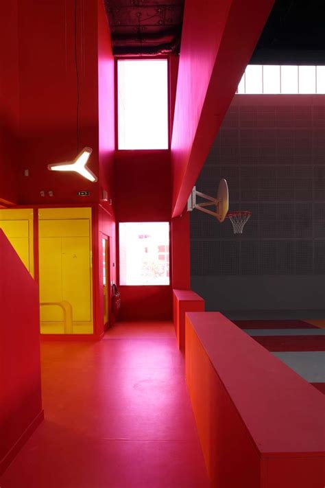 Interior Youth Basketball by Gallery Of Sports And Leisure Center In Cloud Koz