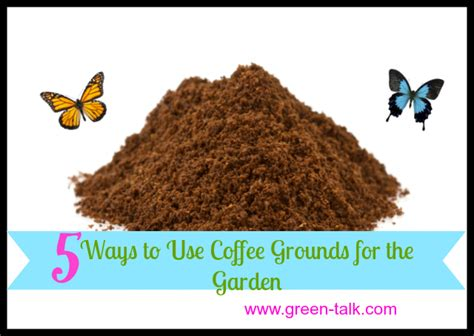 Are Coffee Grounds For The Garden by 5 Ways To Use Coffee Grounds In The Garden