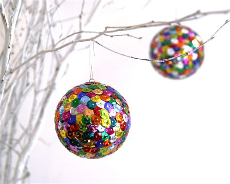 sparkly holiday ornaments the 3 r s blog