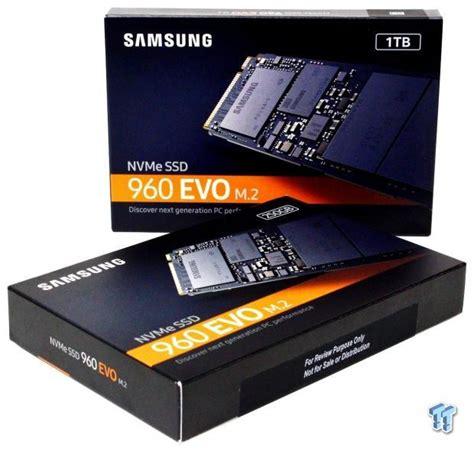 samsung 960 evo 1tb 1tb 250gb m 2 nvme pcie ssd review