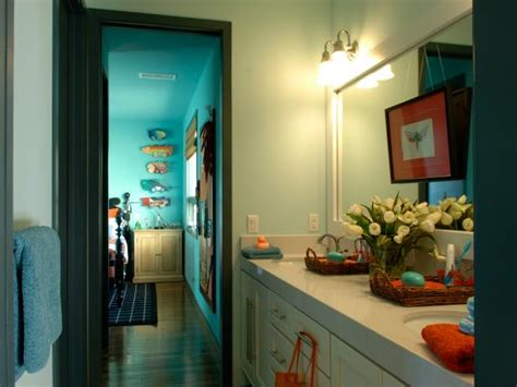 bathroom ideas for boys 12 stylish bathroom designs for kids hgtv