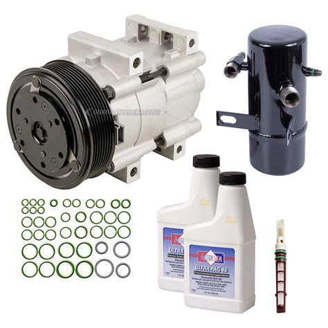 new air conditioning compressor kit ac compressor w clutch drier more