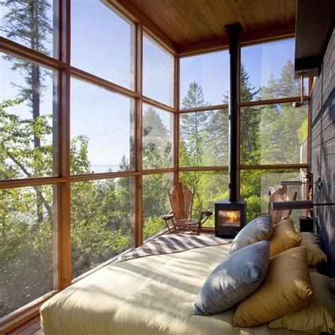 10 most relaxing sleeping porch ideas home design and warm sleeping porch with glass window
