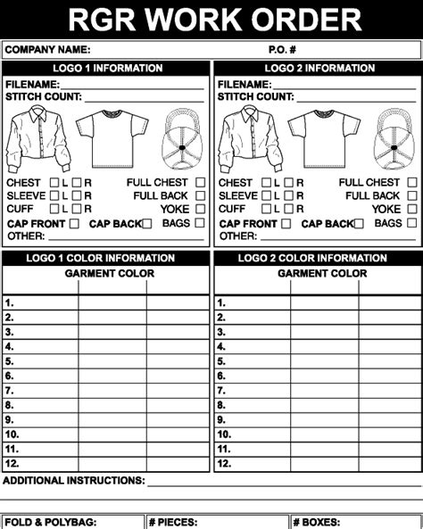 embroidery work order form template makaroka com