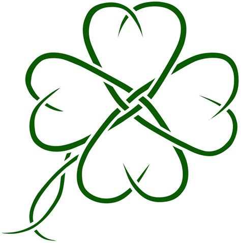 celtic knot shamrock tattoo designs four leaf clover tattoos designs ideas and meaning