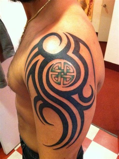 tribal celtic tattoo designs best 25 celtic tribal tattoos ideas on tribal