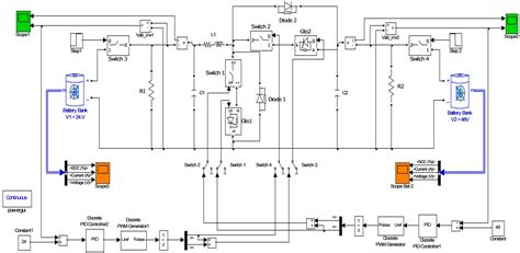 switched capacitor converter state model generator design and analysis of a 24 vdc to 48 vdc bidirectional dc dc converter specifically for a