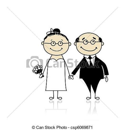 sposi clipart clipart vettoriali di cerimonia sposo insieme sposa