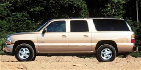 2000 chevrolet suburban (chevy) review, ratings, specs