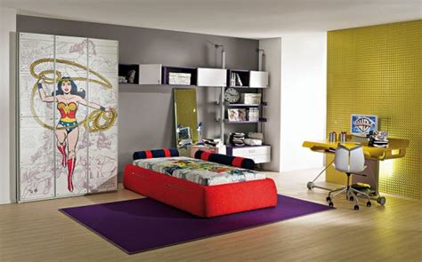 comic bedroom ideas beautifull wallpapers interior designing of kids rooms