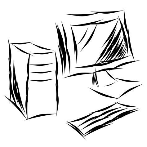 sketchbook computer vector for free use sketch desktop computer