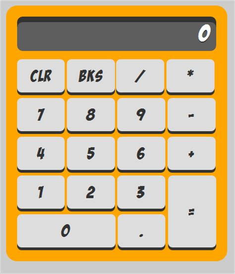calculator using javascript and html javascript calculator free source code tutorials and