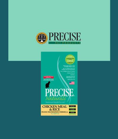 precise food precise chicken meal foundation pet world