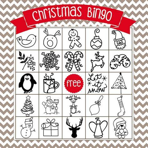 printable santa bingo cards printable christmas bingo game in english and spanish