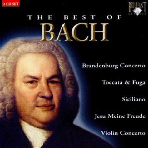 the best of bach the best of bach 2 cd set orchestra chamber music