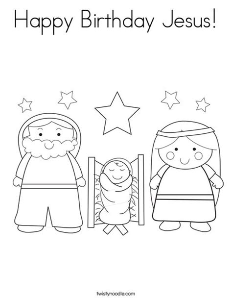 happy birthday jesus card template confucius page coloring pages